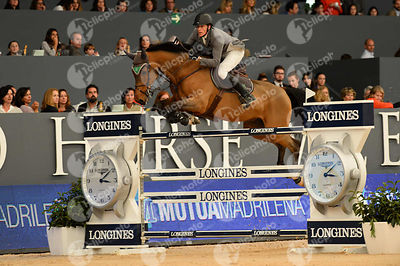 ECKERMANN Henrik von, (SWE), Cantinero  during CSI5-W_1,60_Longines World Cup Grand Prix competition at Madrid Horse Week at ...