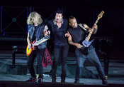 Lionel Richie in concert at the Baths of Caracalla