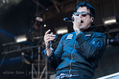 Dustin Bates, vocals, Starset