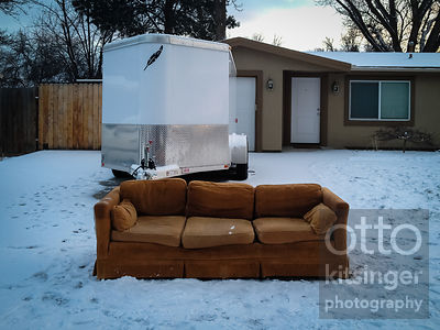 the couch in winter