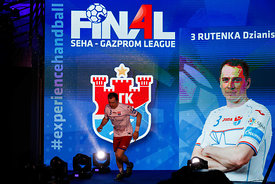 Rutenka Dzianis during the Final Tournament - Semi final match - Vardar vs Meshkov Brest - Final Four - SEHA - Gazprom league...