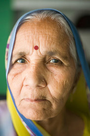 Bhagwhati Varma, 75 who has cataracts