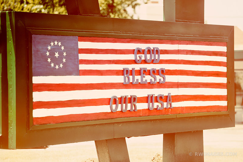 GOD BLESS OUR USA ROUTE 66 MISSOURI