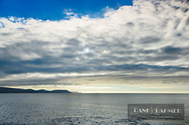 Cloud impression at ocean - Europe, Ireland, Mayo, Ballycastle, Downpatrick Head - digital