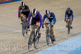 Women Keirin 7-12 Final. Canadian Track Championships, Saturday Morning Session, September 29, 2018