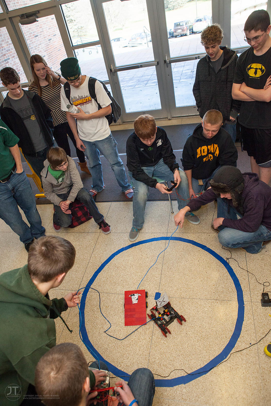 STEM Robot Sumo Match