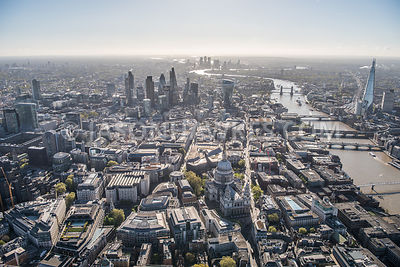 London, aerial view.