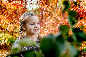 Younger Nordic girl and pear trees 8