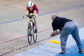 U17 Women Individual Pursuit Final. 2016/2017 Track O-Cup #3/Eastern Track Challenge, Mattamy National Cycling Centre, Milton...