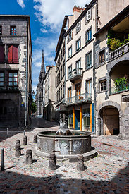 Fountain of Place du Terrail, Clermont Ferrand