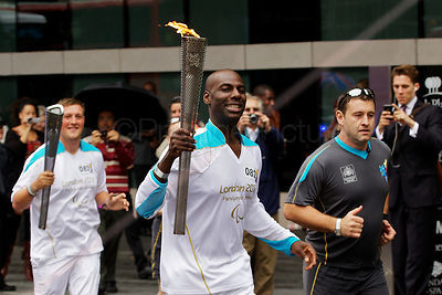 Paralympic Torch Bearer
