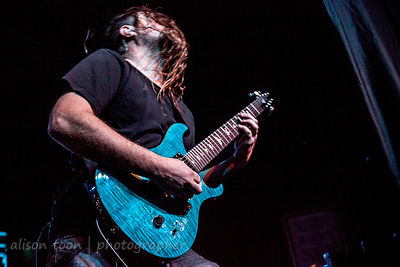 Matt Klavins, guitar, Ne Obliviscaris