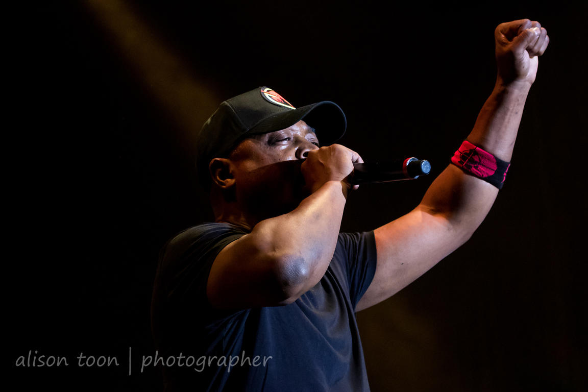 Chuck D, vocals, Prophets Of Rage