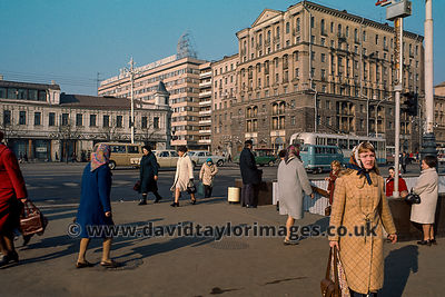 Gorky Street | Moscow | April 1976