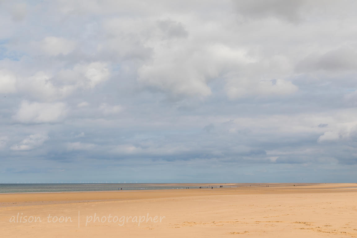 Walking on Holkham Beach