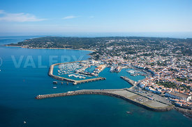 photo de port joinville, ile d yeu
