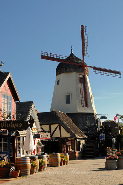 Moulin Solvang Californie USA 10/12
