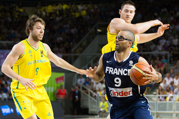Strasbourg: Basket France vs Australia