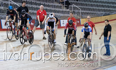 Men Keirin 1-6 Final. 2016/2017 Track O-Cup #3/Eastern Track Challenge, Mattamy National Cycling Centre, Milton, On, February...