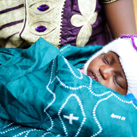 Immediate newborn care and maternal health in Mali