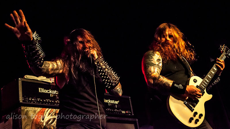Chance and Nate Garnette, Skeletonwitch, Ace of Spades, Sacramento