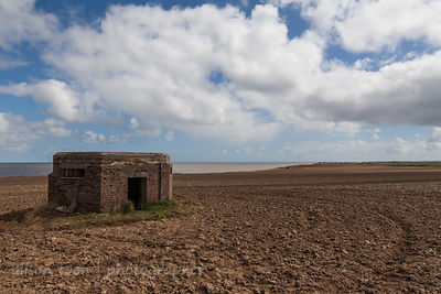 WWII pill box near Happisburg Lighthouse