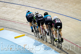U17 Women Team Pursuit Qualification. 2015 Canadian Track Championships, October 9, 2015