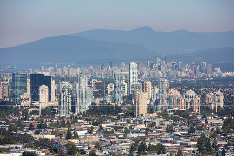 Burnaby (Metrotown) Skyline