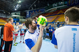 Rastko Stojkovic during the Final Tournament - Final Four - SEHA - Gazprom league, Kids day in Brest, Belarus, 08.04.2017, Ma...