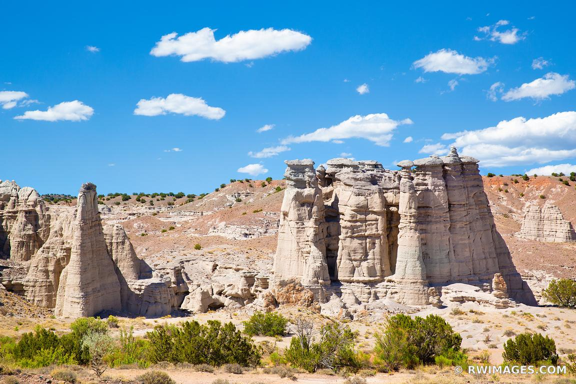 NORTHERN NEW MEXICO ROCKY LANDSCAPE COLOR