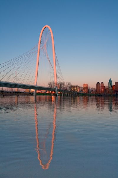 Margaret Hunt Hill Bridge Reflections #5