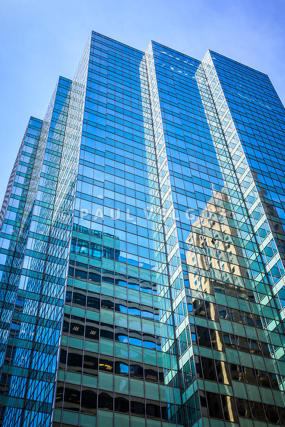 Chicago Modern Glass Office Building Architecture
