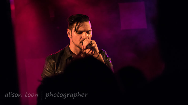 Rick DeJesus, vocals, Adelitas Way