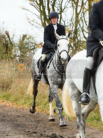 Tim Terry. The Cottesmore Hunt at Somerby