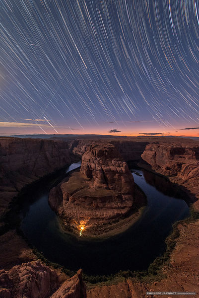 USA-Horseshoebend_startrail