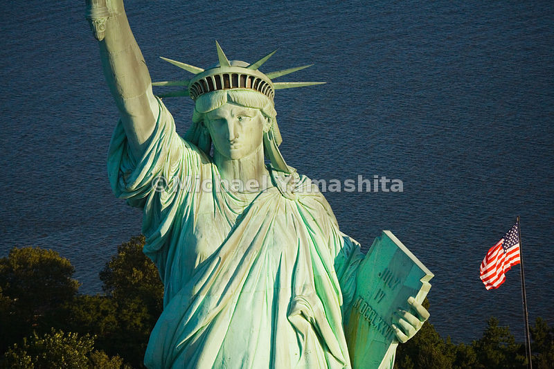 Though it is no longer possible to climb to the torch of the Statue of Liberty, her crown is accessible for those willing to ...