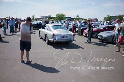 BMT 216A, the 'James Bond' DB5 - Part of the Aston Martin Centenary at the Silverstone Classic 2013