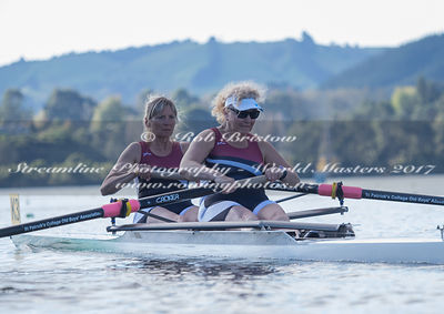 Taken during the World Masters Games - Rowing, Lake Karapiro, Cambridge, New Zealand; ©  Rob Bristow; Frame 526 - Taken on: T...