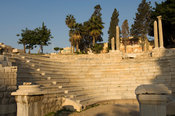 The Roman amphitheatre at Kom al-Dikka from the 4th century AD, Alexandria, Egypt