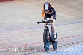 Junior Women Pursuit Final. 2016/2017 Track O-Cup #3/Eastern Track Challenge, Mattamy National Cycling Centre, Milton, On, Fe...