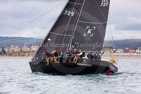 Bengal Magic, IRL725, J35, Weymouth Regatta 2018, 20180908059.