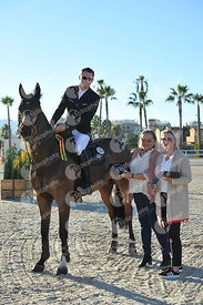 Oliva, Spain - 2018 November 11: Gold tour 1m45 - GP during CSI Mediterranean Equestrian Autumn Tour II.(photo: 1clicphoto.com)
