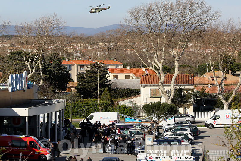 Attacks terrisrist in Trèbes France