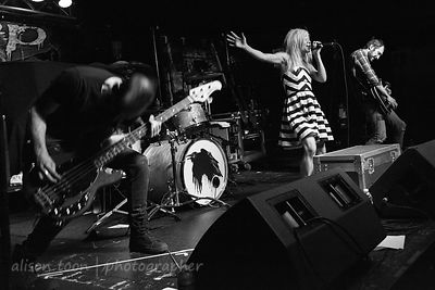 Lacey Sturm and band