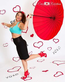 Beautiful-Women-Umbrella-Pin-Up