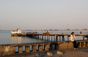 Jetty for the Catembe Ferry, Maputo, Mozambique