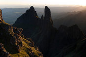 The Column and the Pyramid, Ukhahlamba Drakensberg Park, South Africa