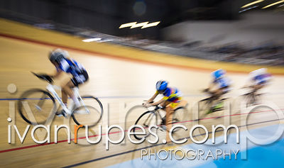 U17 Women's Team Pursuit 3-4 Final. 2015 Canadian Track Championships, October 9, 2015