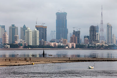 Mahim Bay (Arabian Sea), Mumbai, India.