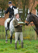 Henry Dove - The Cottesmore Hunt meet at Oak House, Tilton On The Hill, Saturday 31st October 2015.